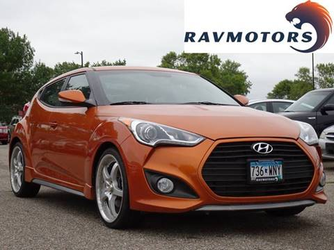 2013 Hyundai Veloster Turbo for sale in Burnsville, MN