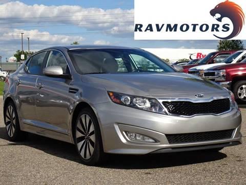 2013 Kia Optima for sale at RAVMOTORS in Burnsville MN
