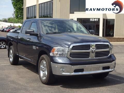 2015 RAM Ram Pickup 1500 Big Horn for sale at RAVMOTORS 2 in Crystal MN