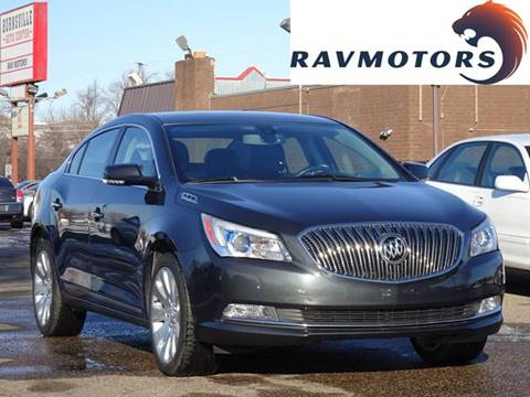 2014 Buick LaCrosse Leather for sale at RAVMOTORS in Burnsville MN