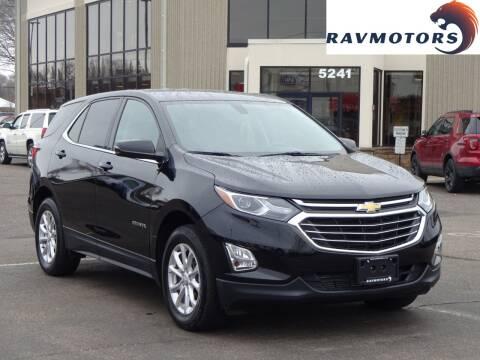 2018 Chevrolet Equinox LT for sale at RAVMOTORS 2 in Crystal MN