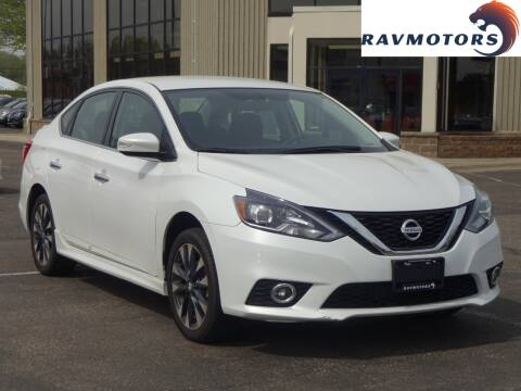 2017 Nissan Sentra for sale at RAVMOTORS 2 in Crystal MN