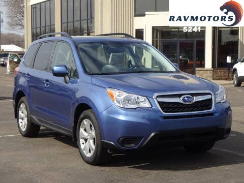 2015 Subaru Forester 2.5i Premium for sale at RAVMOTORS 2 in Crystal MN