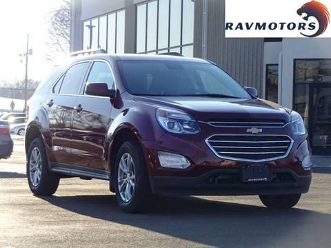 2016 Chevrolet Equinox LT for sale at RAVMOTORS 2 in Crystal MN