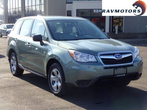 2016 Subaru Forester for sale at RAVMOTORS 2 in Crystal MN