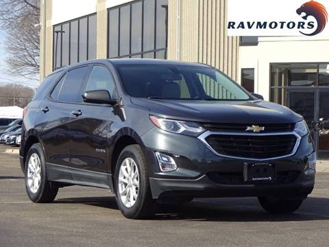 2018 Chevrolet Equinox LS for sale at RAVMOTORS 2 in Crystal MN