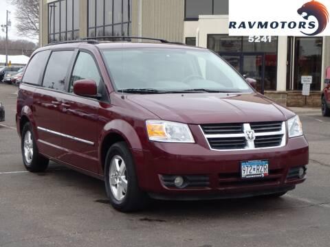 2009 Dodge Grand Caravan SXT for sale at RAVMOTORS 2 in Crystal MN