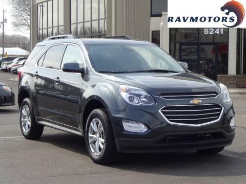 2017 Chevrolet Equinox LT for sale at RAVMOTORS 2 in Crystal MN