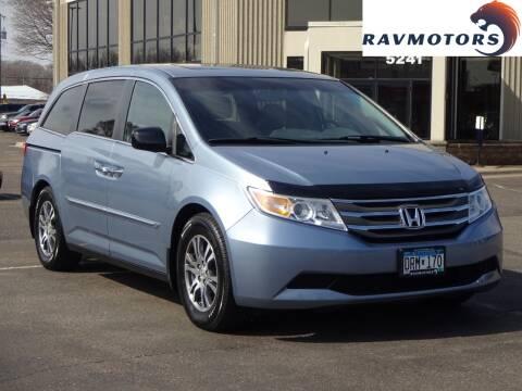 2011 Honda Odyssey EX-L w/DVD for sale at RAVMOTORS 2 in Crystal MN