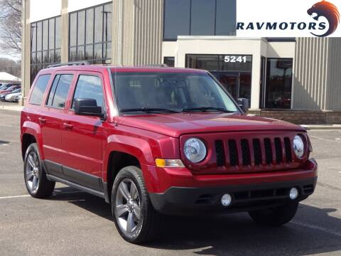 2015 Jeep Patriot for sale at RAVMOTORS 2 in Crystal MN