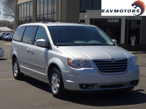 2010 Chrysler Town and Country for sale at RAVMOTORS 2 in Crystal MN