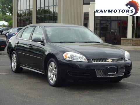 2014 Chevrolet Impala Limited for sale at RAVMOTORS 2 in Crystal MN