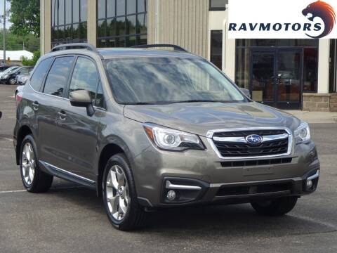 2017 Subaru Forester 2.5i Touring for sale at RAVMOTORS 2 in Crystal MN
