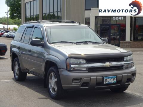 2007 Chevrolet TrailBlazer LS for sale at RAVMOTORS 2 in Crystal MN