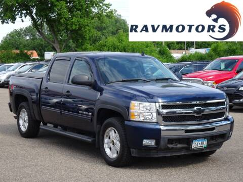 2010 Chevrolet Silverado 1500 LT for sale at RAVMOTORS in Burnsville MN