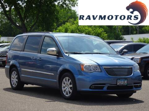 2011 Chrysler Town and Country for sale at RAVMOTORS in Burnsville MN
