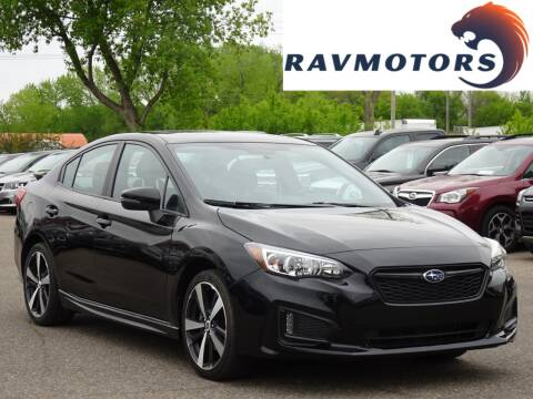 2018 Subaru Impreza Sport for sale at RAVMOTORS in Burnsville MN