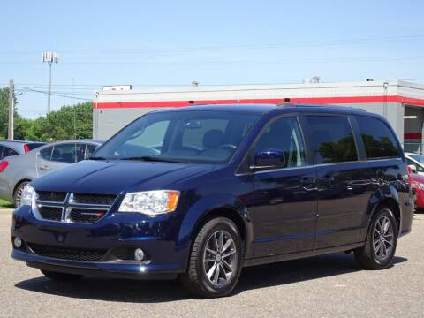 2017 Dodge Grand Caravan SXT for sale at RAVMOTORS in Burnsville MN