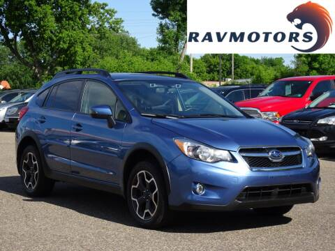 2015 Subaru XV Crosstrek 2.0i Limited for sale at RAVMOTORS in Burnsville MN