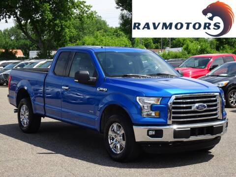 2016 Ford F-150 XLT for sale at RAVMOTORS in Burnsville MN