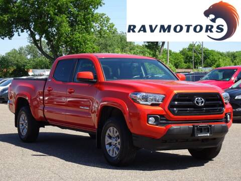 2016 Toyota Tacoma SR5 V6 for sale at RAVMOTORS in Burnsville MN