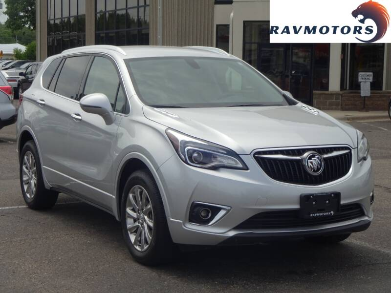 2019 Buick Envision for sale at RAVMOTORS 2 in Crystal MN