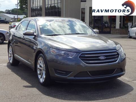 2018 Ford Taurus for sale at RAVMOTORS 2 in Crystal MN