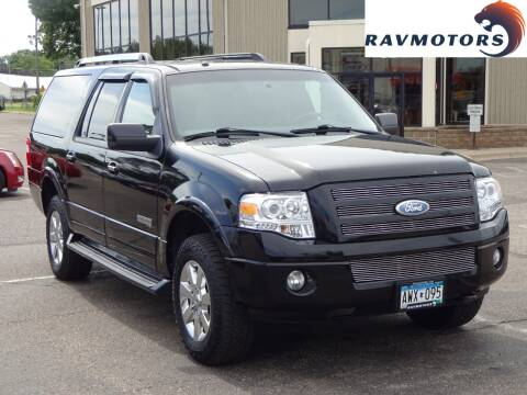 2007 Ford Expedition EL for sale at RAVMOTORS 2 in Crystal MN