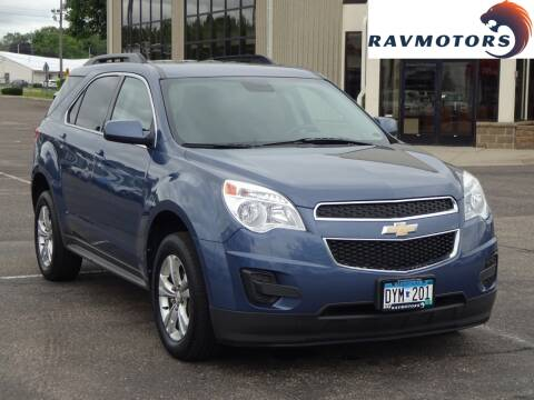 2012 Chevrolet Equinox for sale at RAVMOTORS 2 in Crystal MN