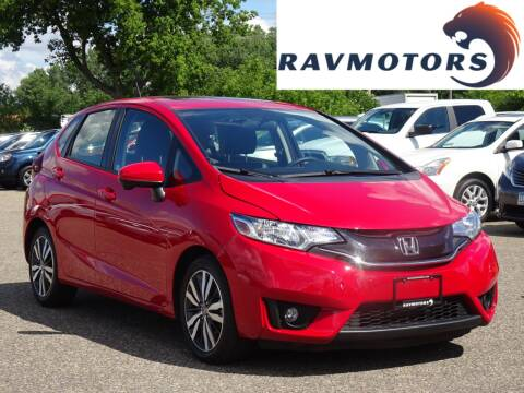 2016 Honda Fit for sale at RAVMOTORS in Burnsville MN