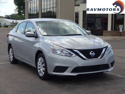 2018 Nissan Sentra for sale at RAVMOTORS 2 in Crystal MN