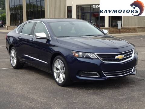 2018 Chevrolet Impala for sale at RAVMOTORS 2 in Crystal MN