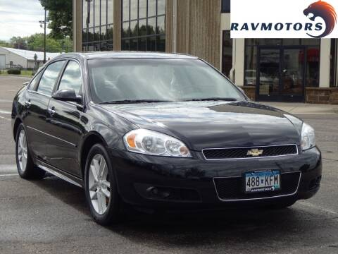 2012 Chevrolet Impala for sale at RAVMOTORS 2 in Crystal MN