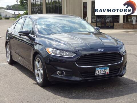 2015 Ford Fusion for sale at RAVMOTORS 2 in Crystal MN