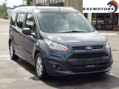 2014 Ford Transit Connect Wagon for sale at RAVMOTORS 2 in Crystal MN