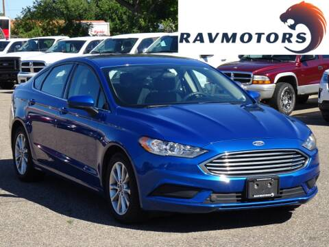 2017 Ford Fusion for sale at RAVMOTORS in Burnsville MN