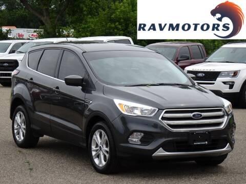 2017 Ford Escape for sale at RAVMOTORS in Burnsville MN
