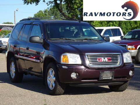 2008 GMC Envoy for sale at RAVMOTORS in Burnsville MN