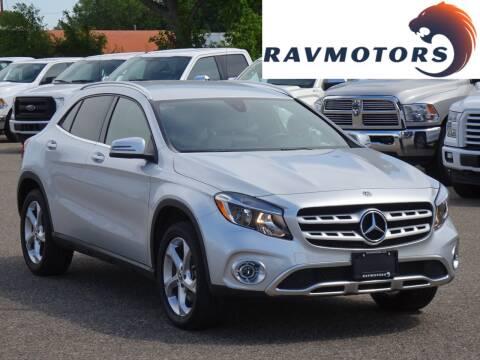 2020 Mercedes-Benz GLA for sale at RAVMOTORS in Burnsville MN