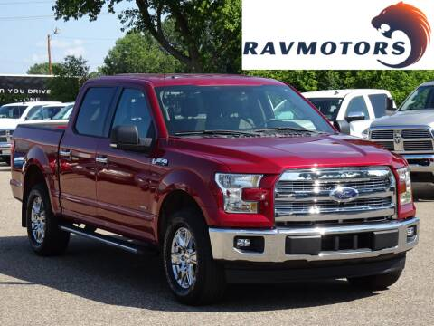 2015 Ford F-150 for sale at RAVMOTORS in Burnsville MN