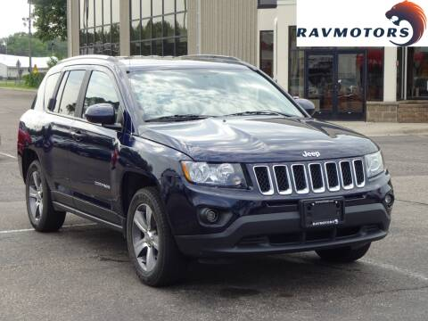 2017 Jeep Compass for sale at RAVMOTORS 2 in Crystal MN