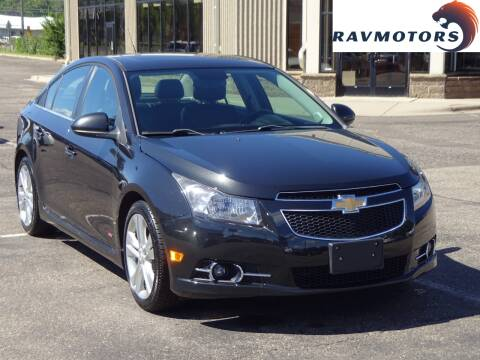 2012 Chevrolet Cruze for sale at RAVMOTORS 2 in Crystal MN
