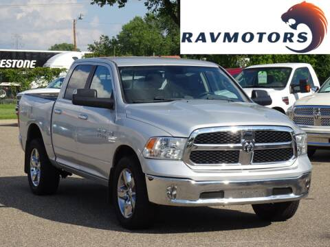 2013 RAM Ram Pickup 1500 for sale at RAVMOTORS in Burnsville MN