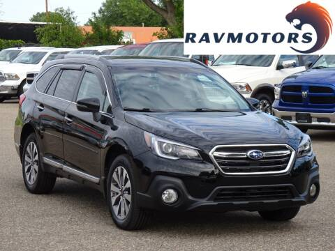 2018 Subaru Outback for sale at RAVMOTORS in Burnsville MN