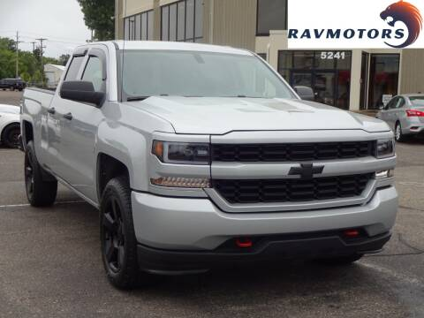 2017 Chevrolet Silverado 1500 for sale at RAVMOTORS 2 in Crystal MN