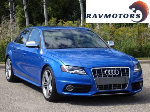 2010 Audi S4 for sale at RAVMOTORS in Burnsville MN