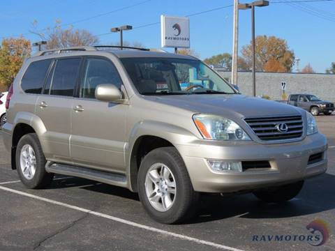 2003 Lexus GX 470 for sale in Crystal, MN