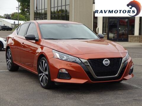 2020 Nissan Altima for sale at RAVMOTORS 2 in Crystal MN
