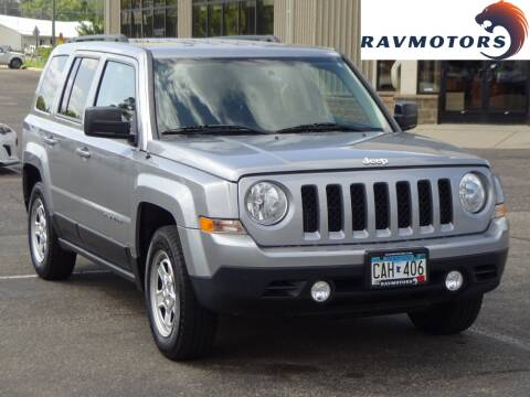 2016 Jeep Patriot for sale at RAVMOTORS 2 in Crystal MN