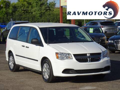 2015 Dodge Grand Caravan for sale at RAVMOTORS in Burnsville MN